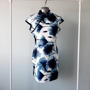 Digital print Qipao Chinese dress